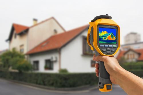 Thermal Imaging Camera as part of energy audit