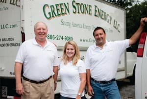 The green stone family