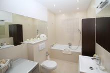 A well-designed bathroom