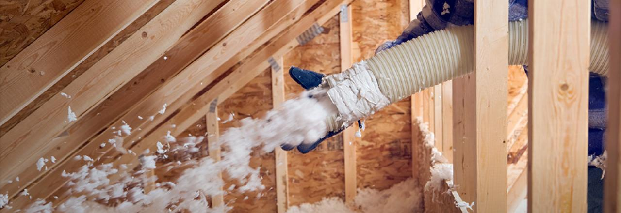 Home insulation to keep homes warm